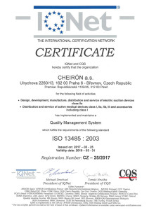 ISO 13485 IQNet