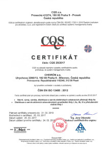 ISO 13485 CQS